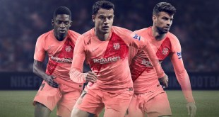 Barcelona New Third Soccer Jersey