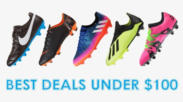 Rated Soccer Boot Options Under $100