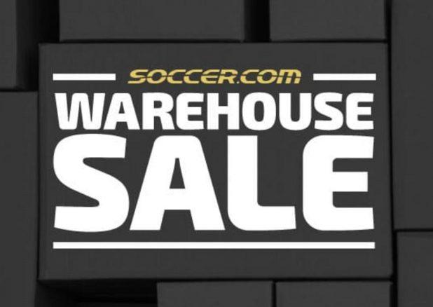 soccer.com Warehouse Sale 2018