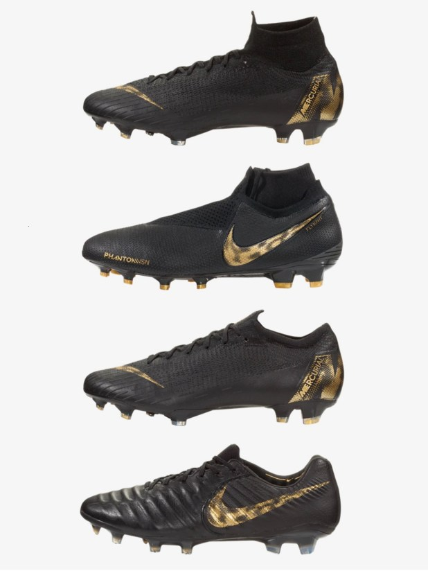 Complete Nike Black Lux Pack