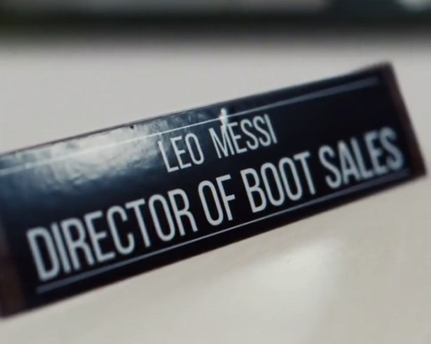 Leo Messi Director Of Boot Sales