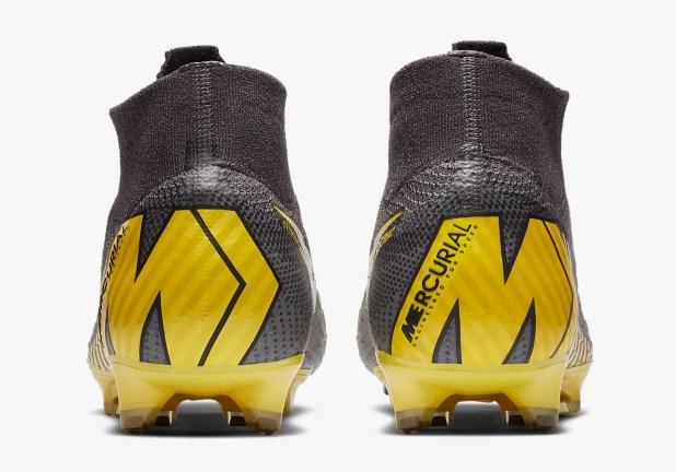 Mercurial Game Over Heel Design