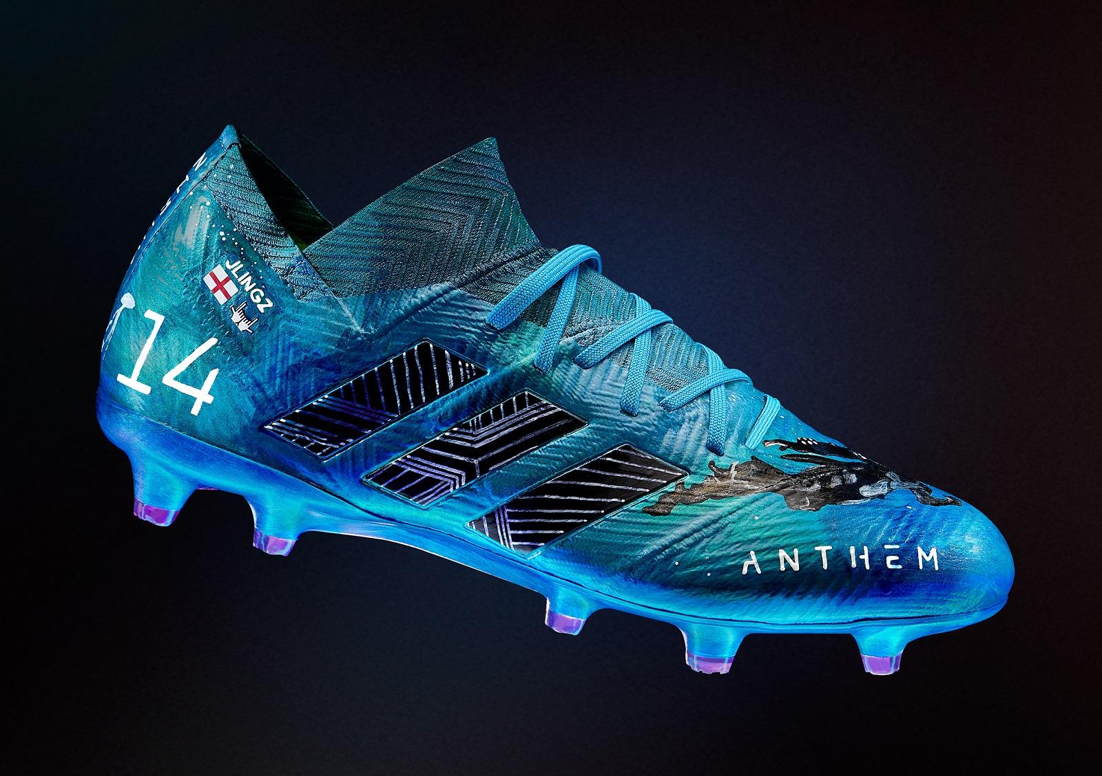 designer football cleats