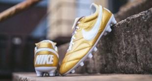 Gold Nike Premier II Ronaldinho