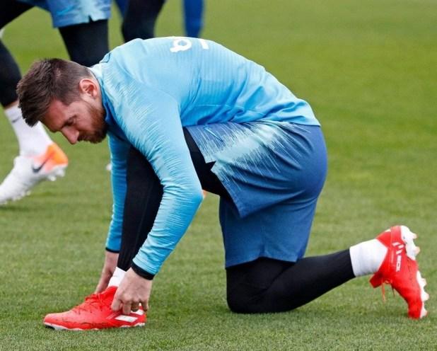 Leo Messi Debuts Next Generation adidas Nemeziz