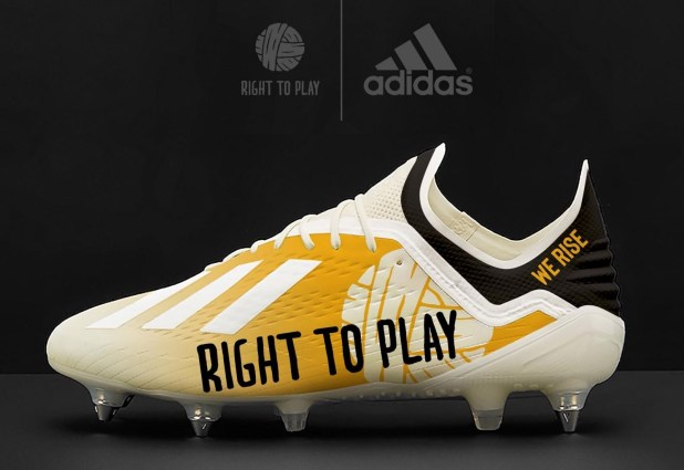 Nathan Redmond adidas X18.1 Right To Play