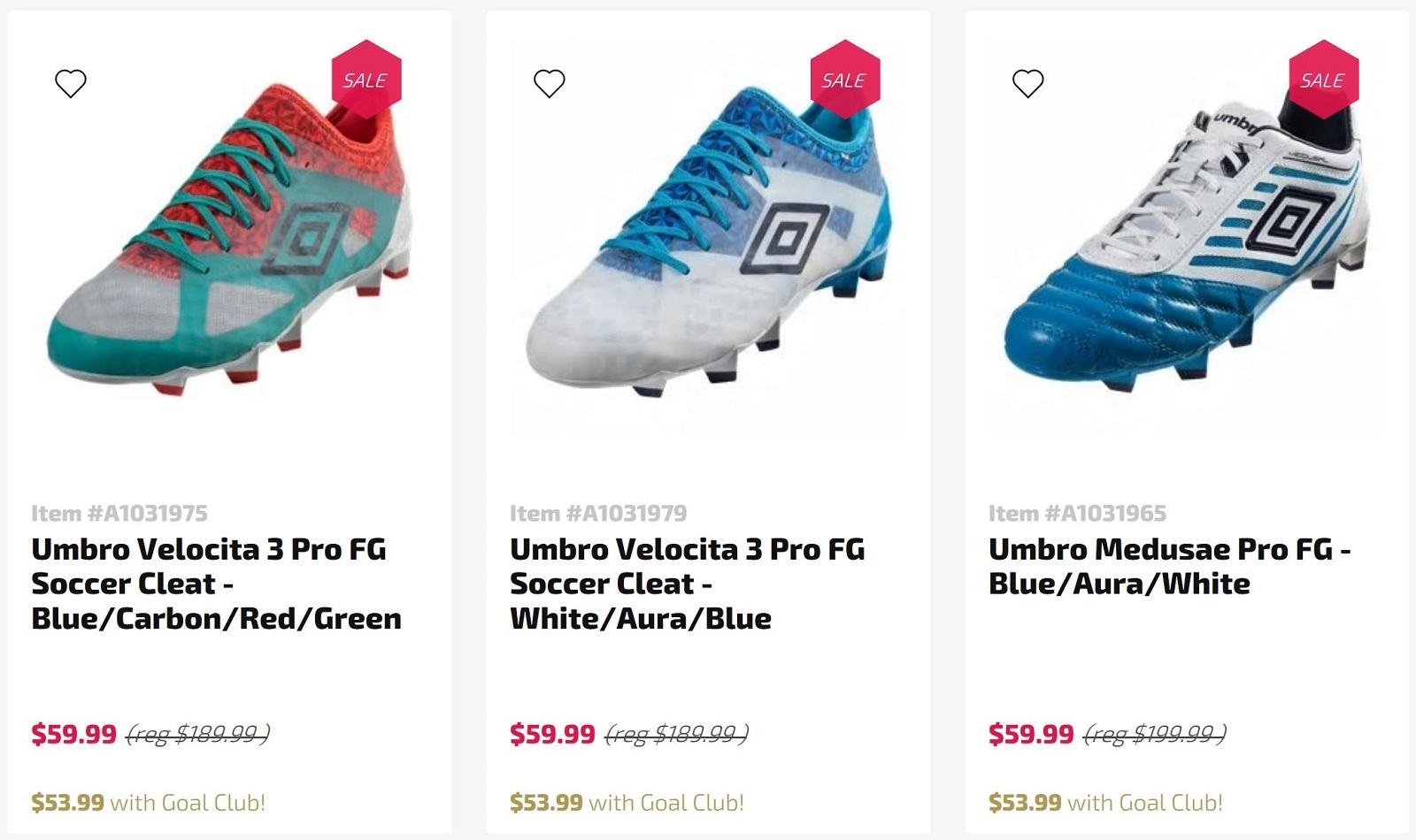 dbfcc64c3 Umbro – Soccer Cleats 101