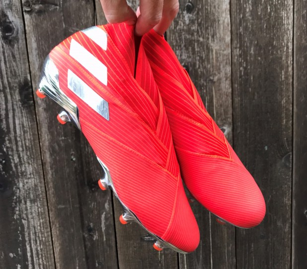 adidas Nemeziz 19+ in Risk Red
