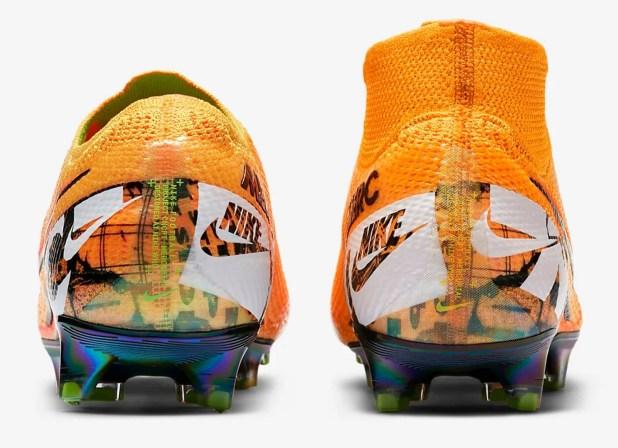 Nike Mercurial 2019 Heel Comparison