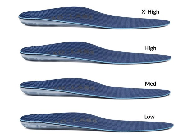 Tread Labs Insole Heights