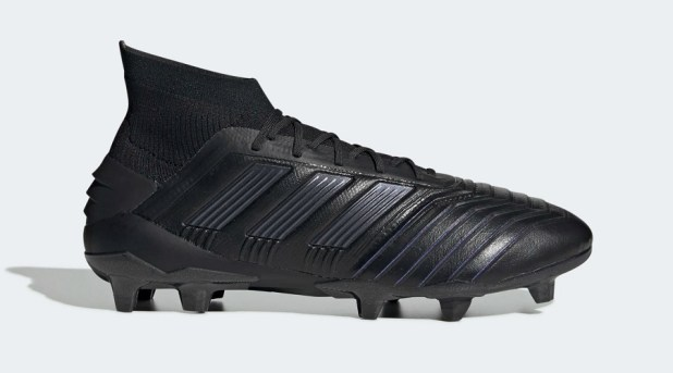 Leather adidas Predator 19.1 FG