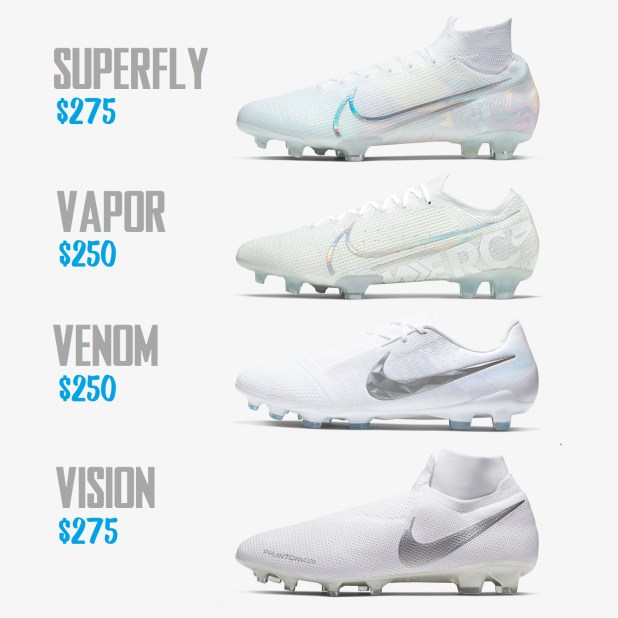 Nike Nuovo White Pack Released