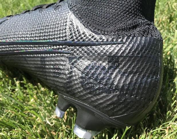 Nike Superfly 7 Stealth Black Heel