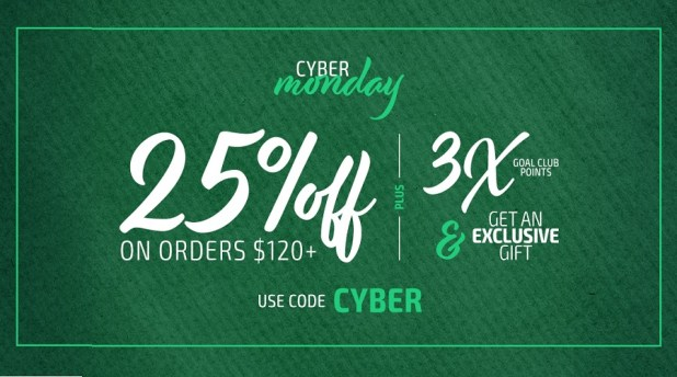 Cyber Monday Soccer Sales 2019