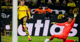 Haaland Scoring for Dortmund
