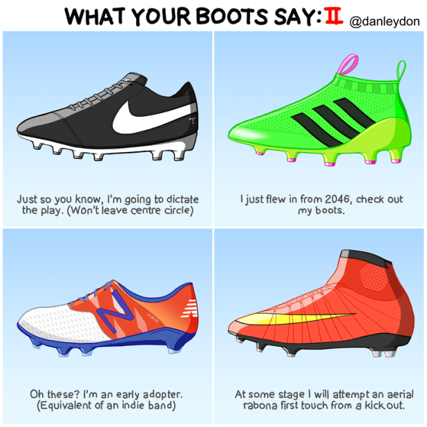 What Your Boots Say 2