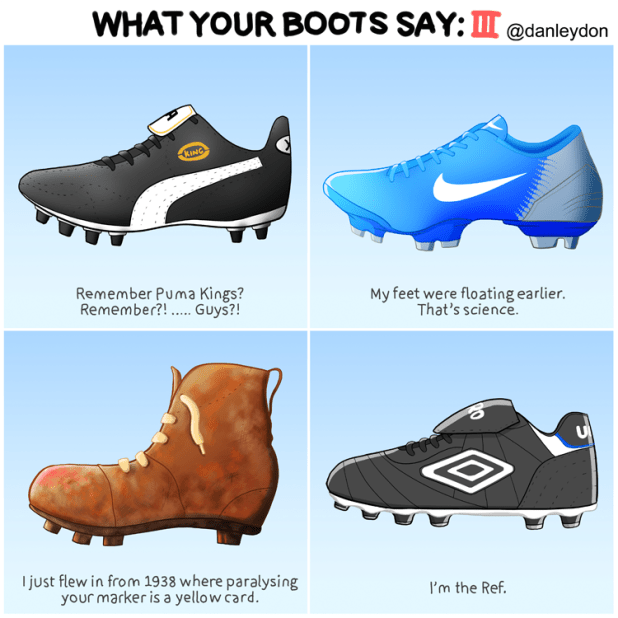 What Your Boots Say 3