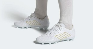 adidas Copa Kapitan White Gold On Foot