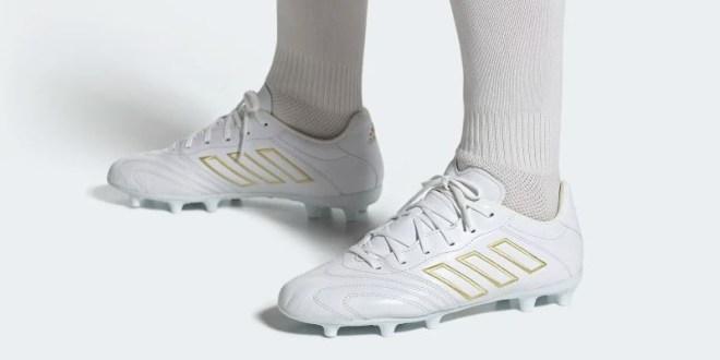 adidas Copa Kapitan White Gold On Foot