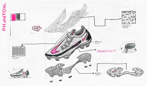 Nike Phantom GT Creation Design