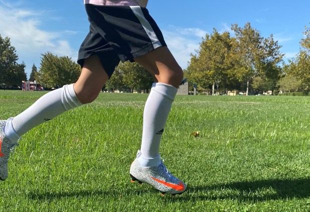 Nike Superfly CR7 Kids Boots On