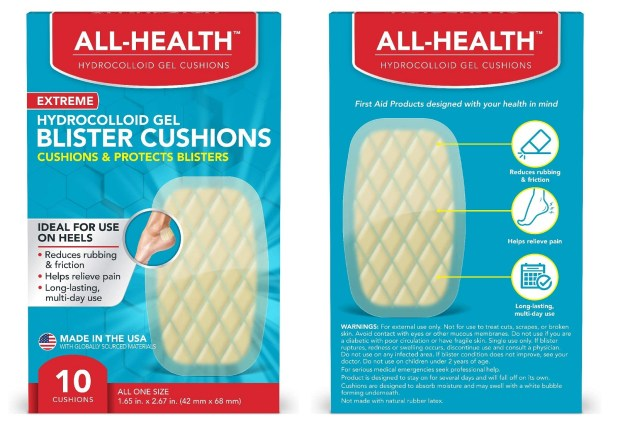 All Health Extreme Hydrocolloid Gel Blister Cushion Bandages