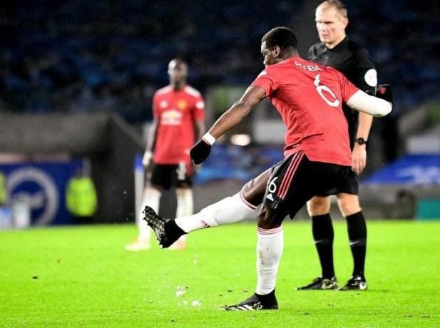 Paul Pogba in his new Predator 20+
