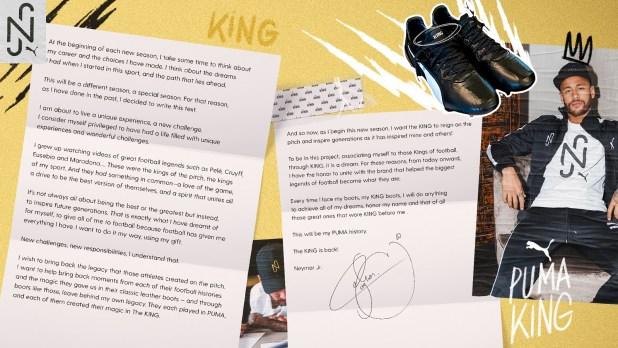 Puma Neymar Letter