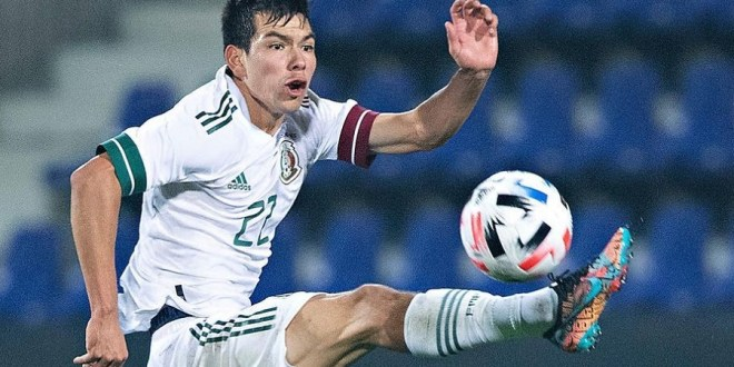 Hirving Lozano Debuts Upcoming Nike Mercurial Vapor