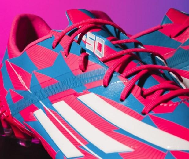 f50 adizero Neon Pink Remake