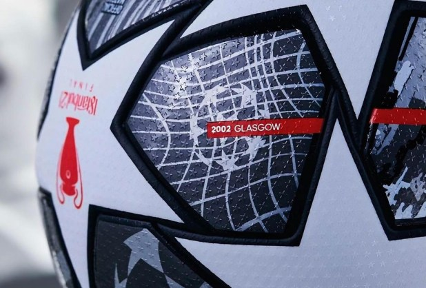 Champions League Ball Detailing