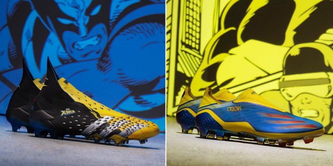 adidas x Marvel – Superhero Themed X-men Boots Released