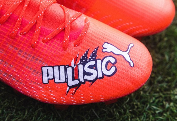 Pulisic Puma Boots Custom