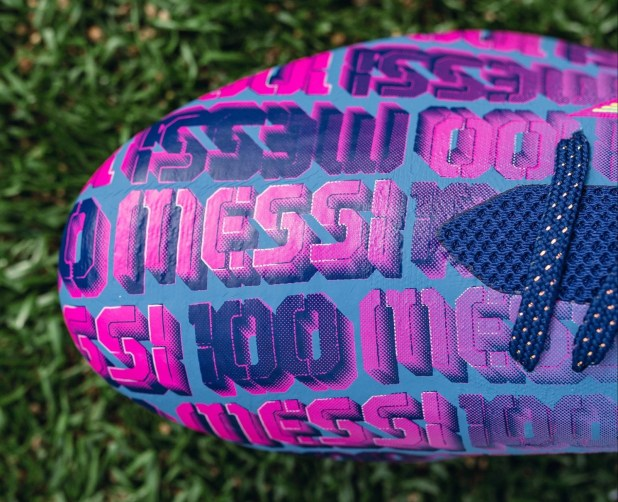 Messi 100 adidas X Speedform