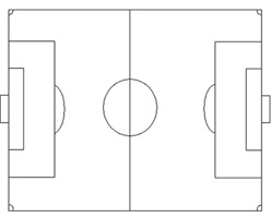 football pitch diagram to print volleyball 5 1 offense printable soccer field drills practice plans