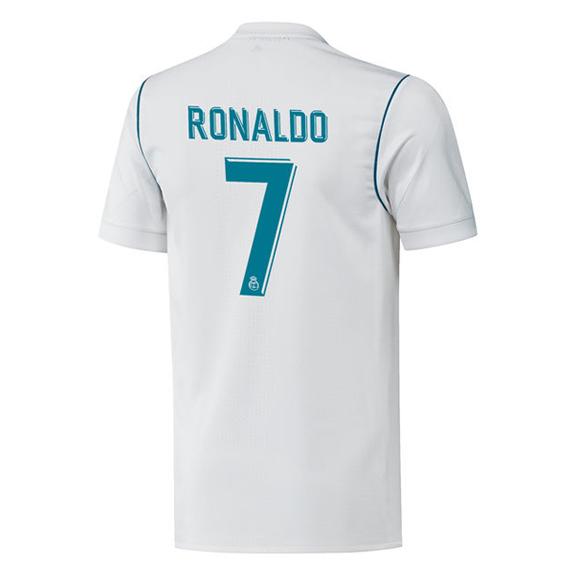 adidas Real Madrid Cristiano Ronaldo 7 Soccer Jersey