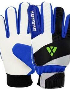 Vizari junior blue white black goalkeeper gloves model also rh soccergarage