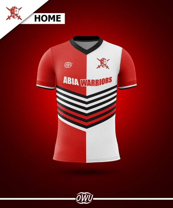 Abia Warriors unveil new jersey