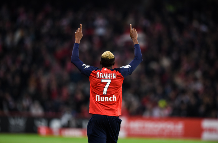 Victor Osimhen move to Lille
