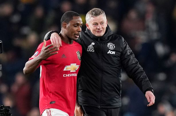 What Manchester United boss told Ighalo after Derby win