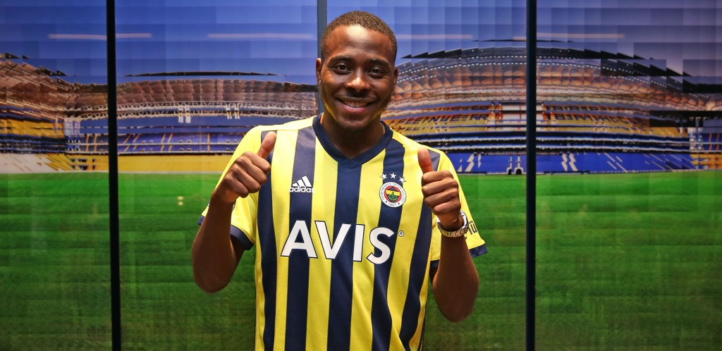 Osayi Samuel delighted to score his first goal for Fenerbahce