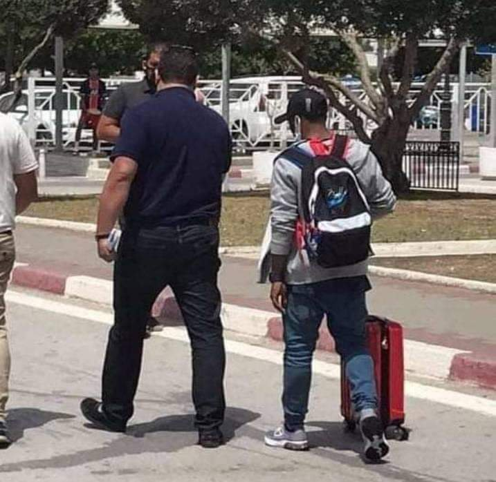 Anayo Iwuala spotted in Tunisia, ahead of his $500,000 move.