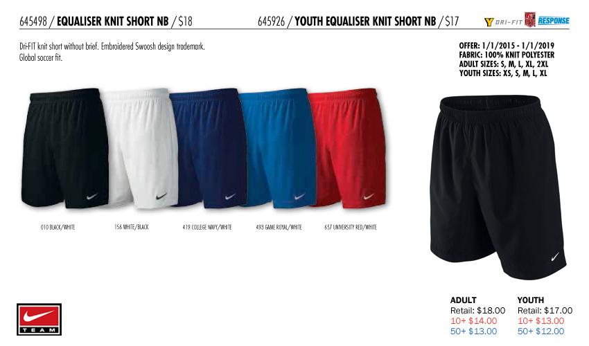 Worn Nike Hertha Knit Short