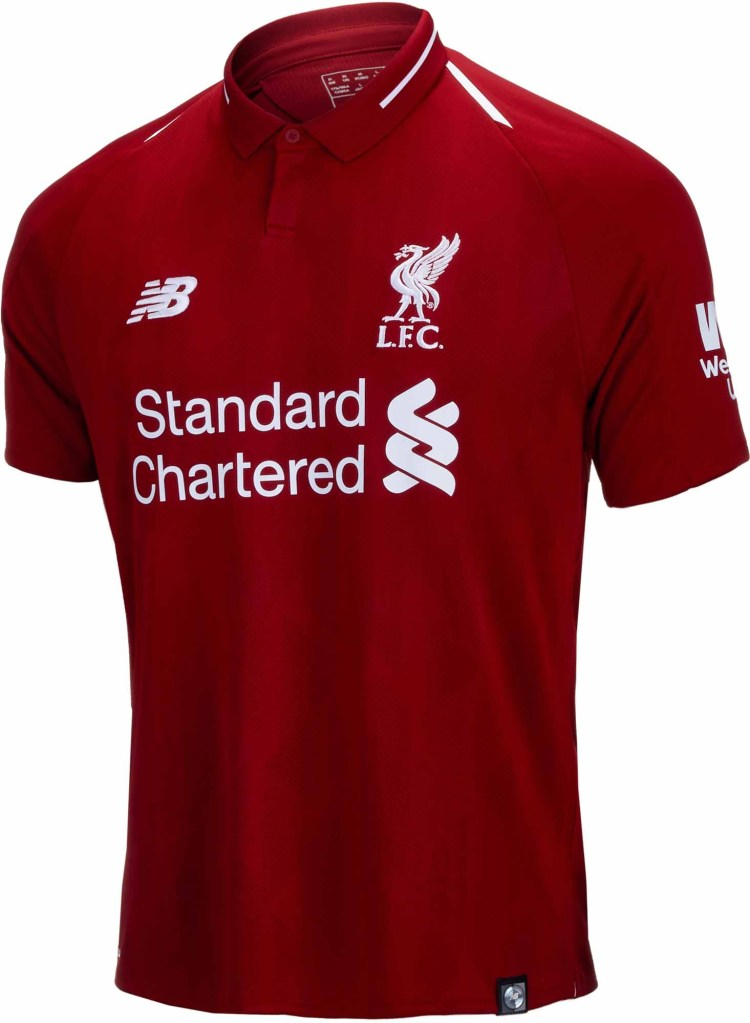 2018/19 New Balance Liverpool Home Jersey - Soccer Master