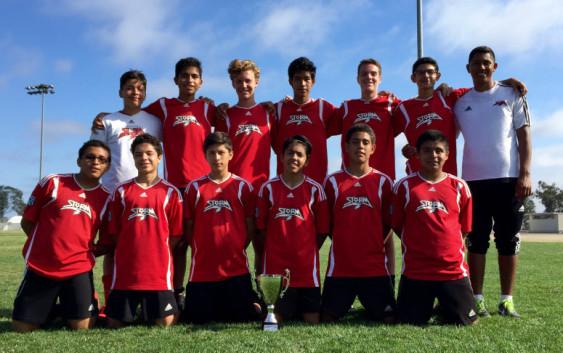 Chavez BU15 Vista Storm FC Charity Cup Champs
