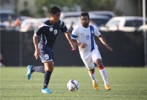 Guam's midfielder Ian Mariano