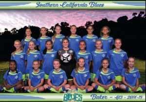So Cal Blues GU13 at Nationals