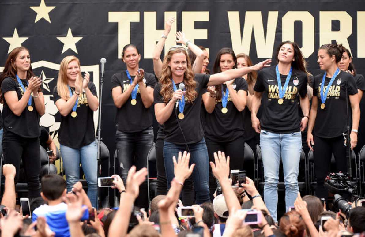 What has changed in the USWNT lives after the World Cup title?