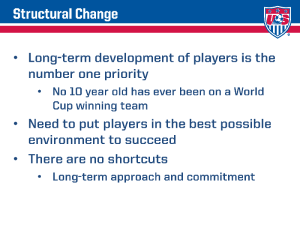 2015 Player Development Initiatives 3
