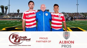 Albion Pros Partner with Rehab United